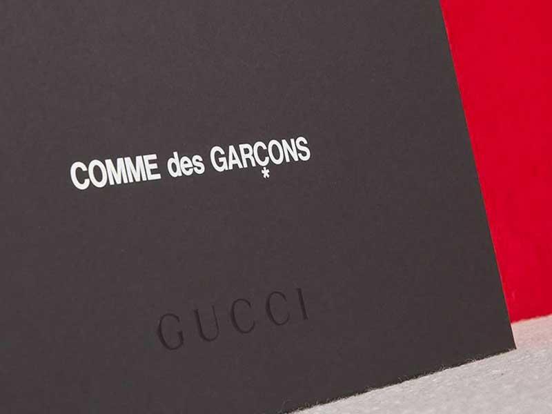 Gucci x Comme des Garçons